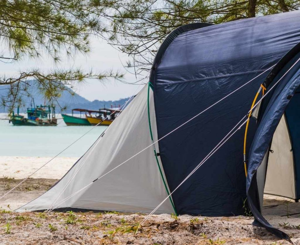 Online Booking for Camp Site in Cambodia