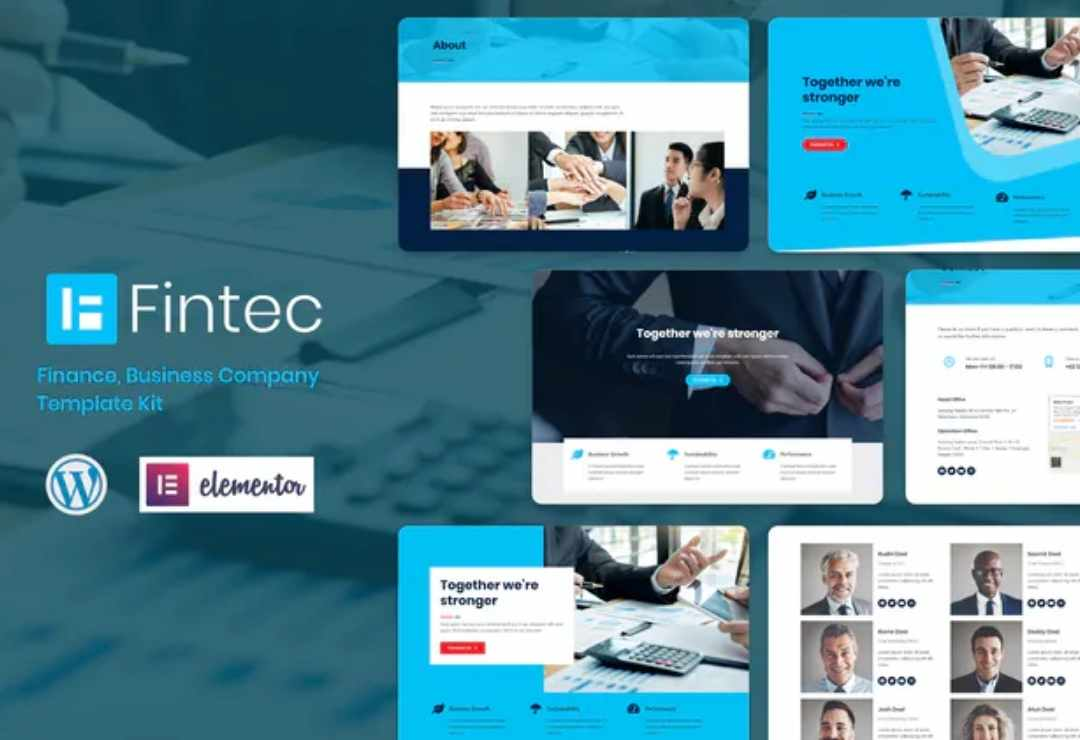 Fintec - Finance, Business Company