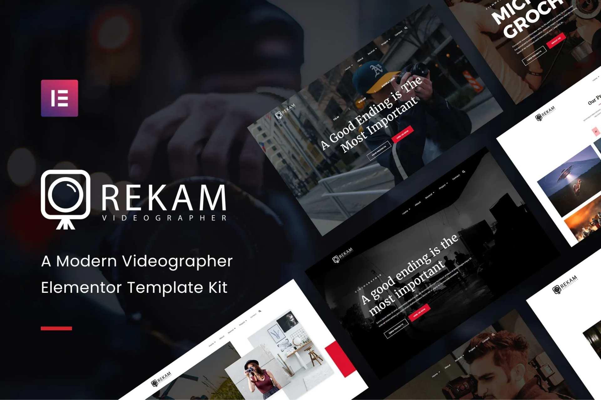 Rekam Kit - Modern Videographer