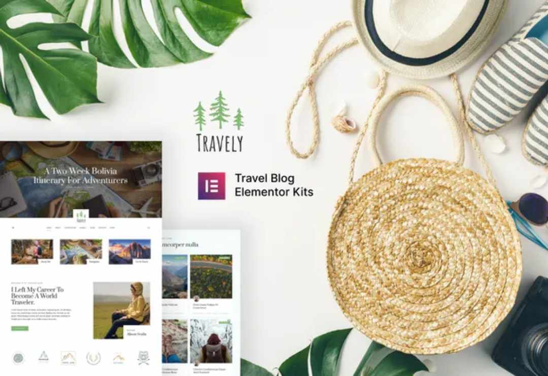 Travely - Travel Blog Template
