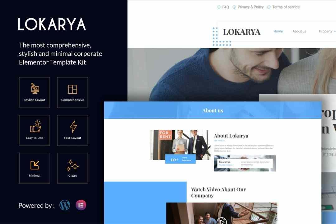 Lokarya - Real Estate Elementor