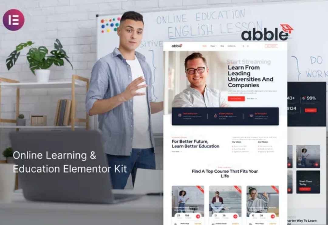 Abble - Online Learning & Education