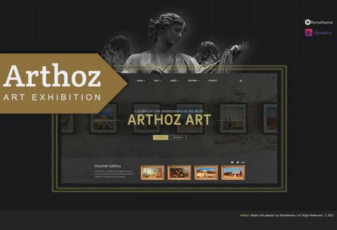 Arthoz - Art Exhibition