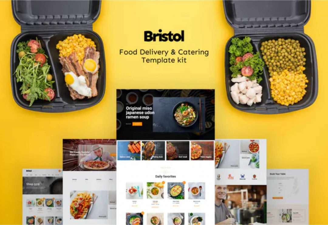 Bristol – Food Delivery & Catering