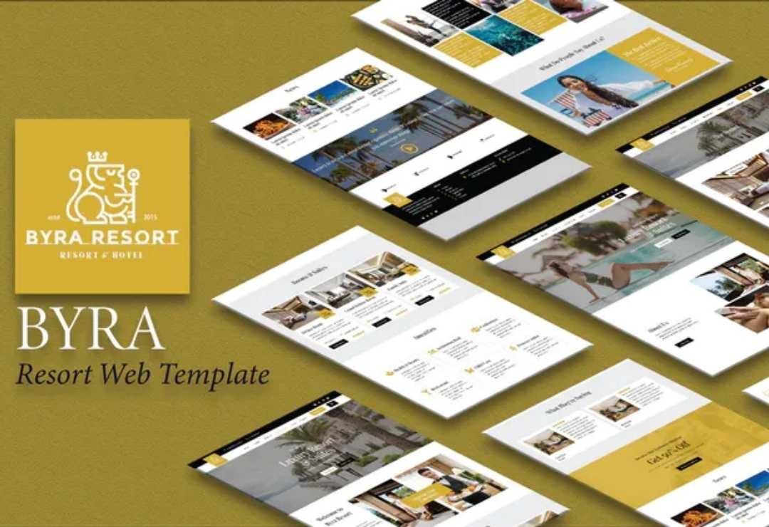 Byra - Hotel & Resort Template Kit