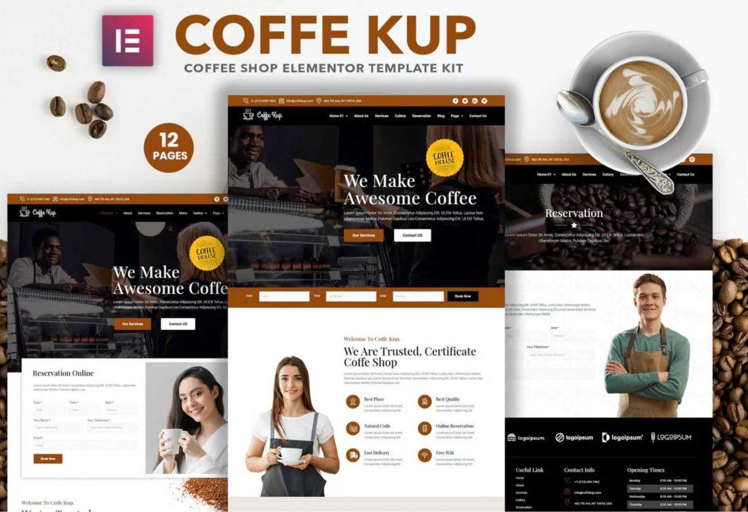 CoffeeKup – Cafe & Coffee Shop
