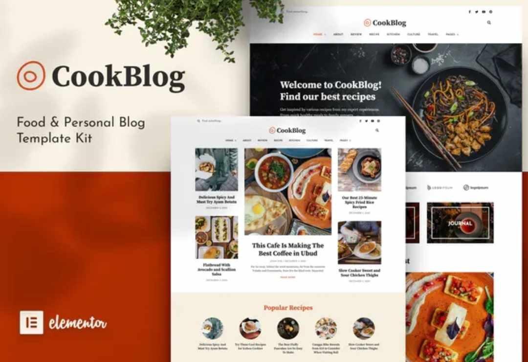 CookBlog – Food & Personal Blog