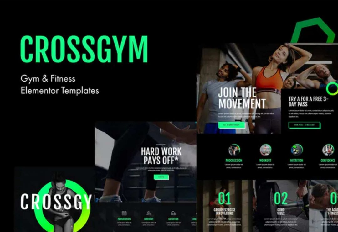 CrossGym - Gym & Fitness