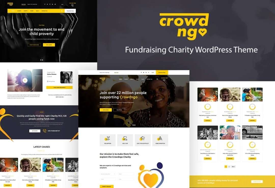 Crowdngo – Fundraising Charity