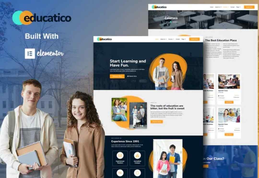 Educatico - Education School