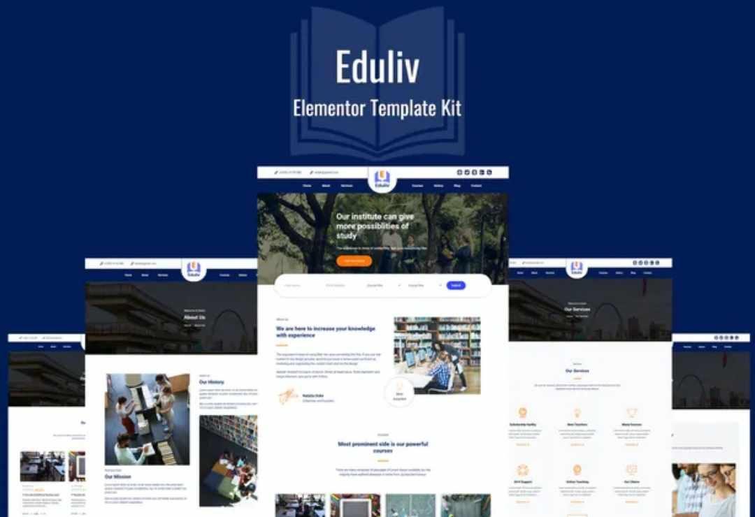 Eduliv - Education Elementor
