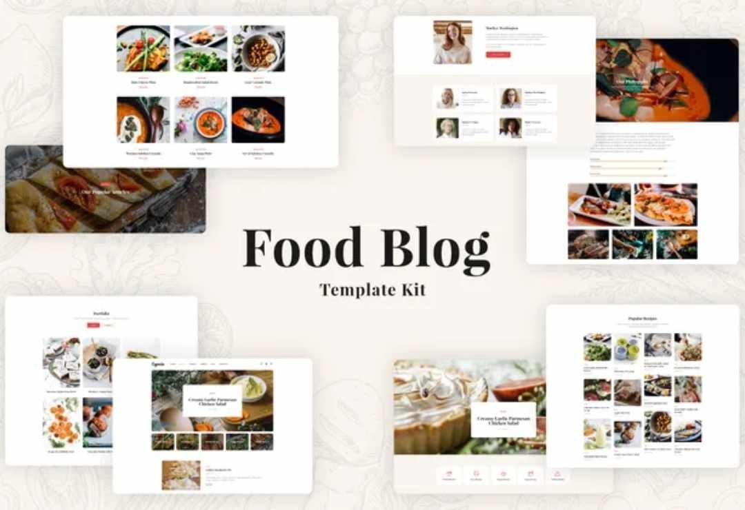 Especio - Food Blog