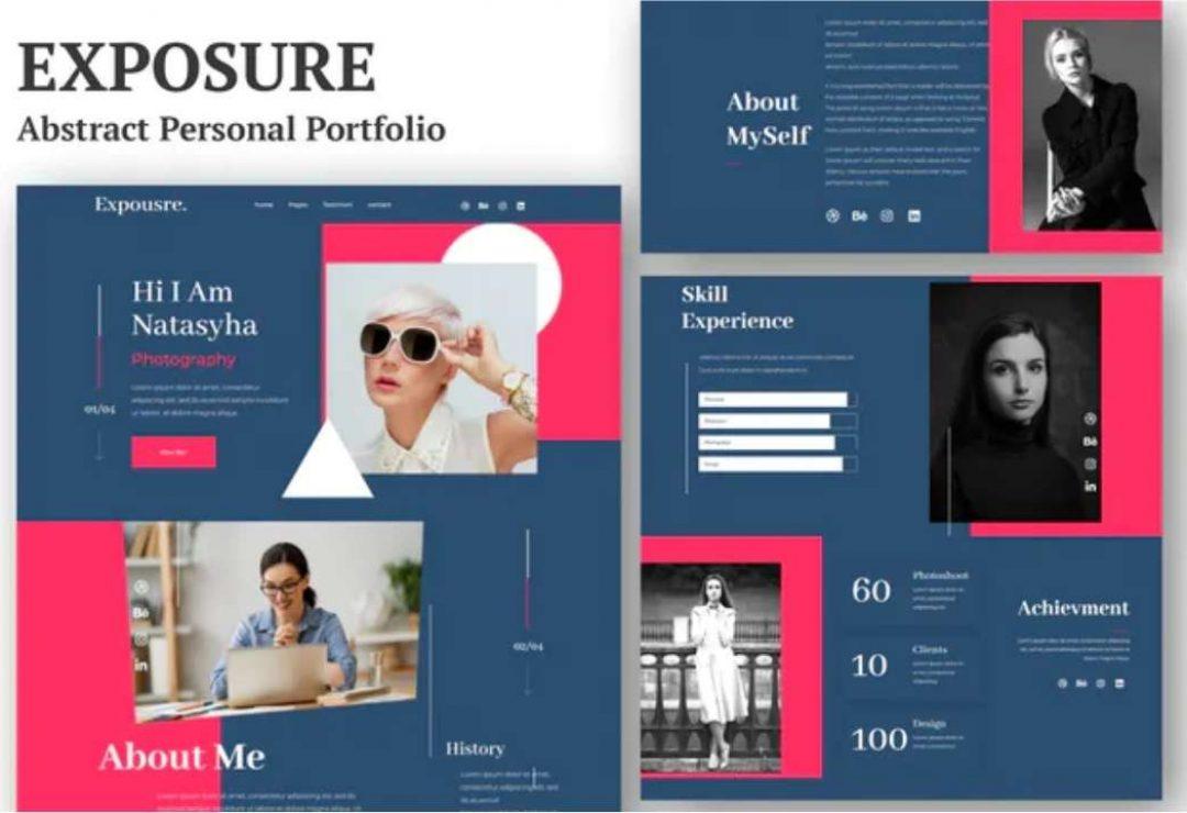 Exposure - Personal Portfolio