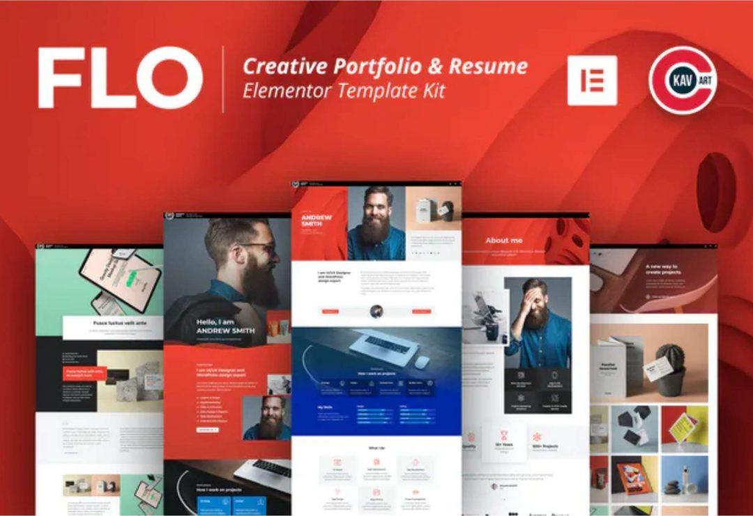 FLO - Creative Portfolio & Resume