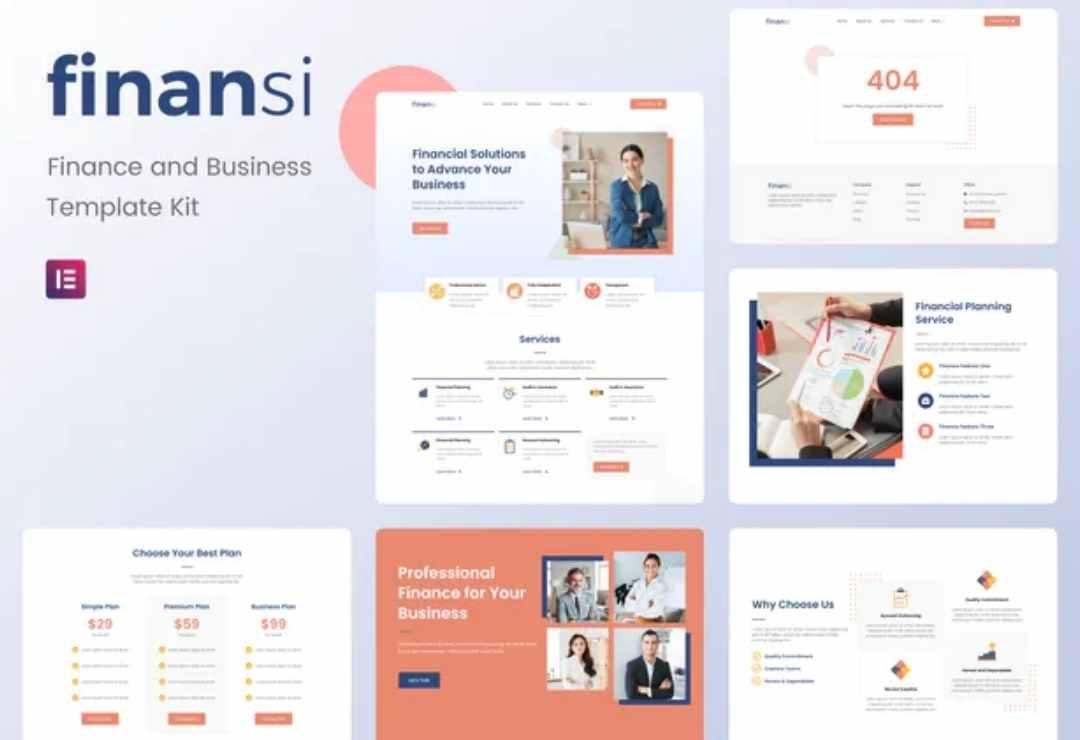 Finansi - Finance & Business