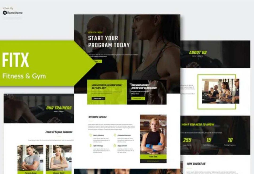 Fitx - Fitness & Gym