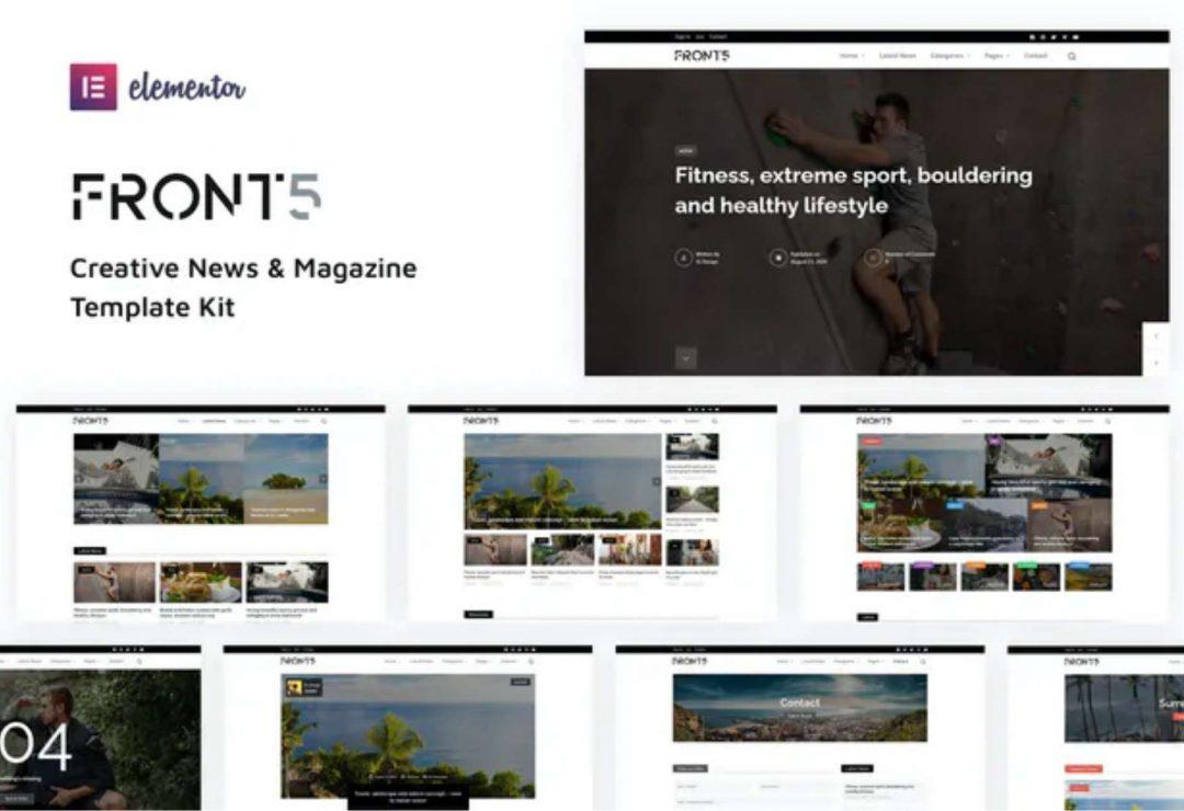 FrontFive - Creative News & Magazine