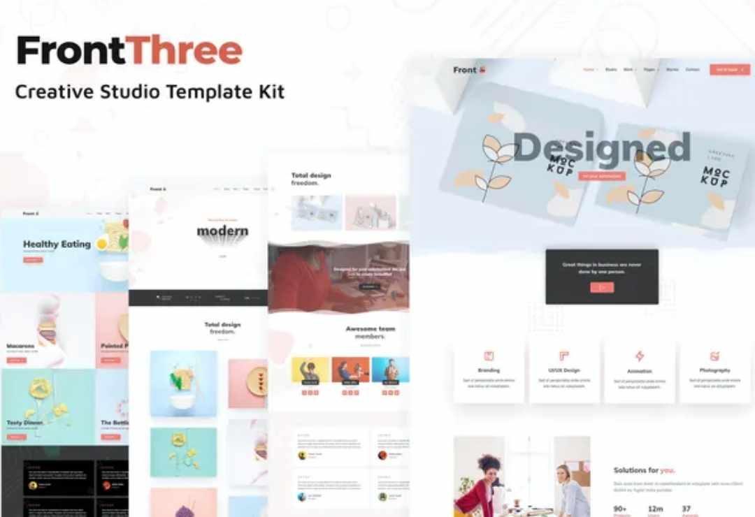 FrontThree - Creative Studio