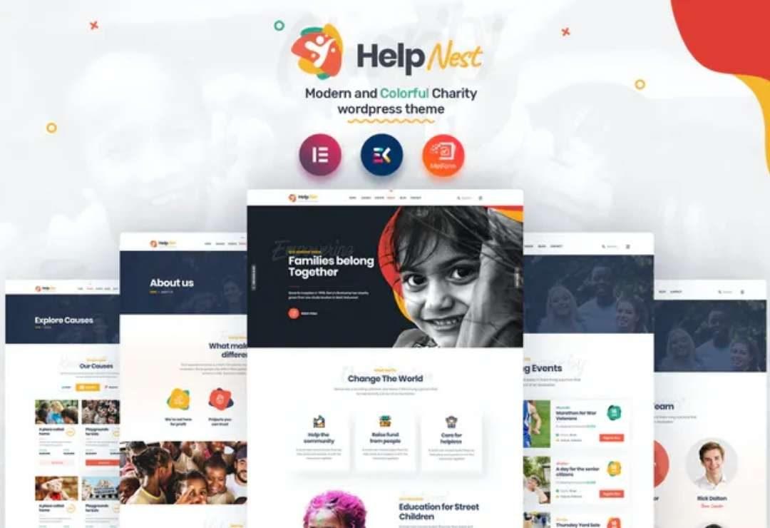Helpnest - Charity