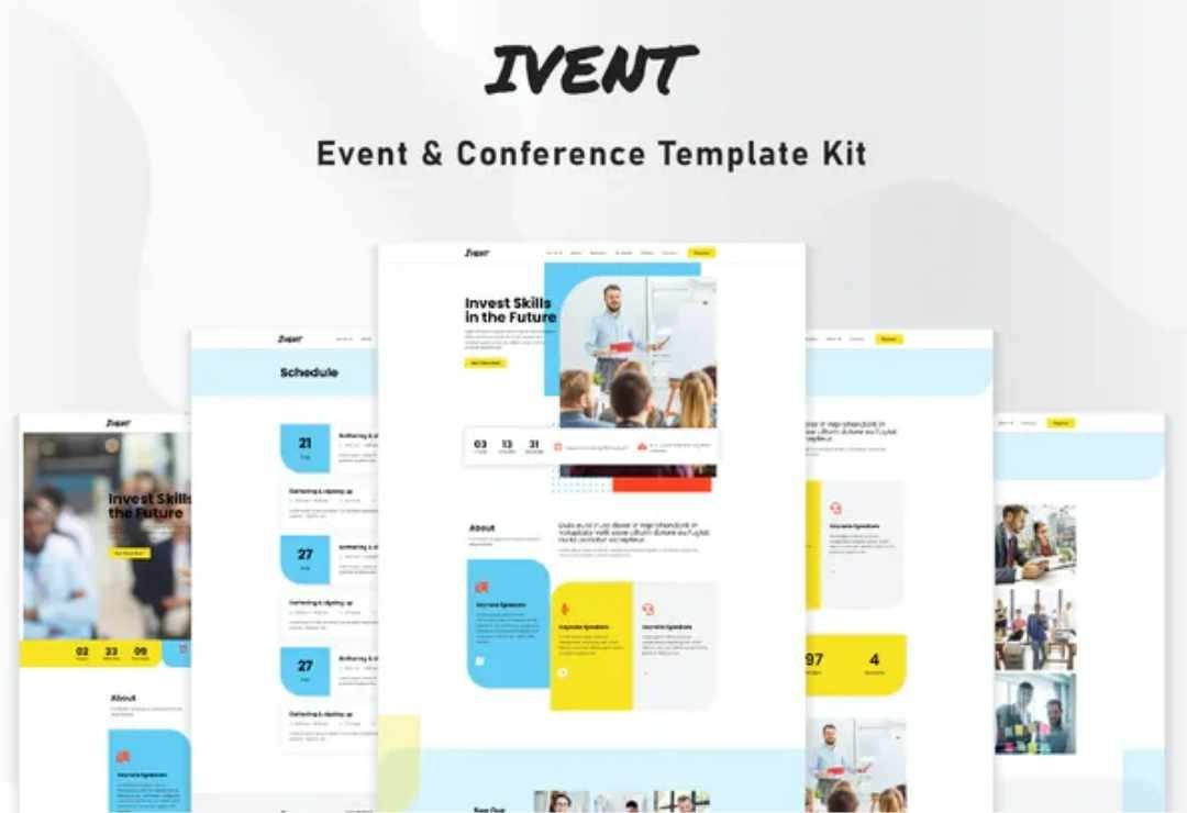 Ivent - Event & Conference