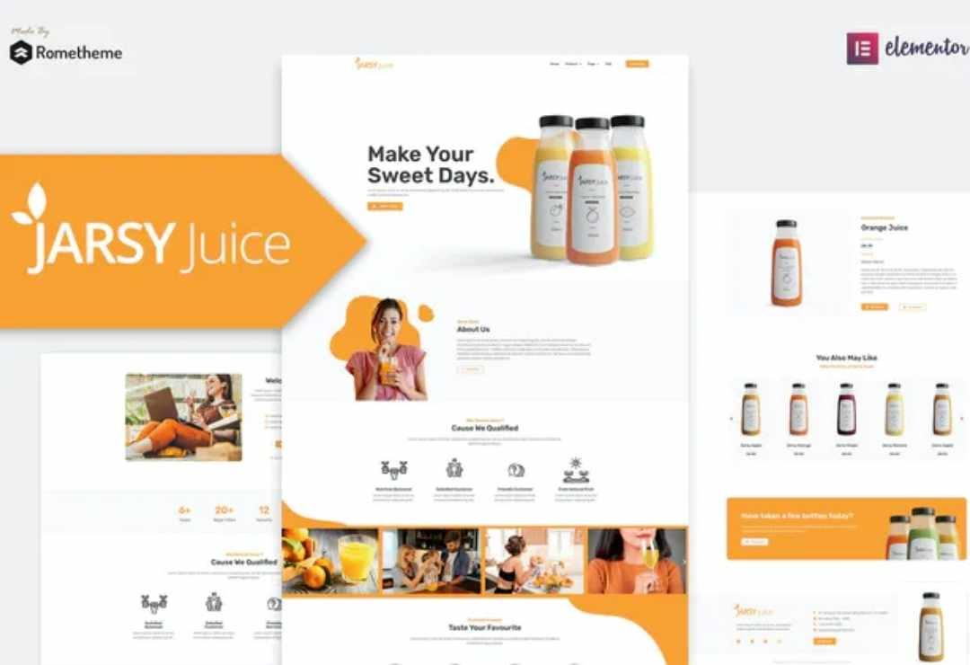 Jarsy Juice - Drink Brand