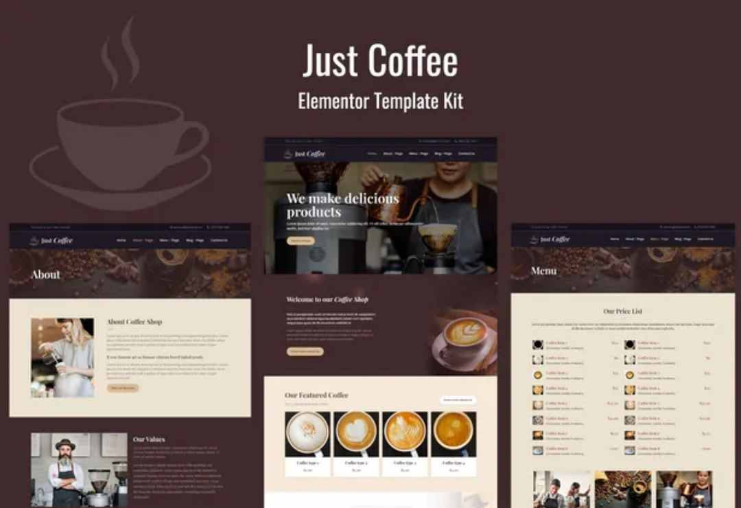 Justcoffee - Cafe and Coffee