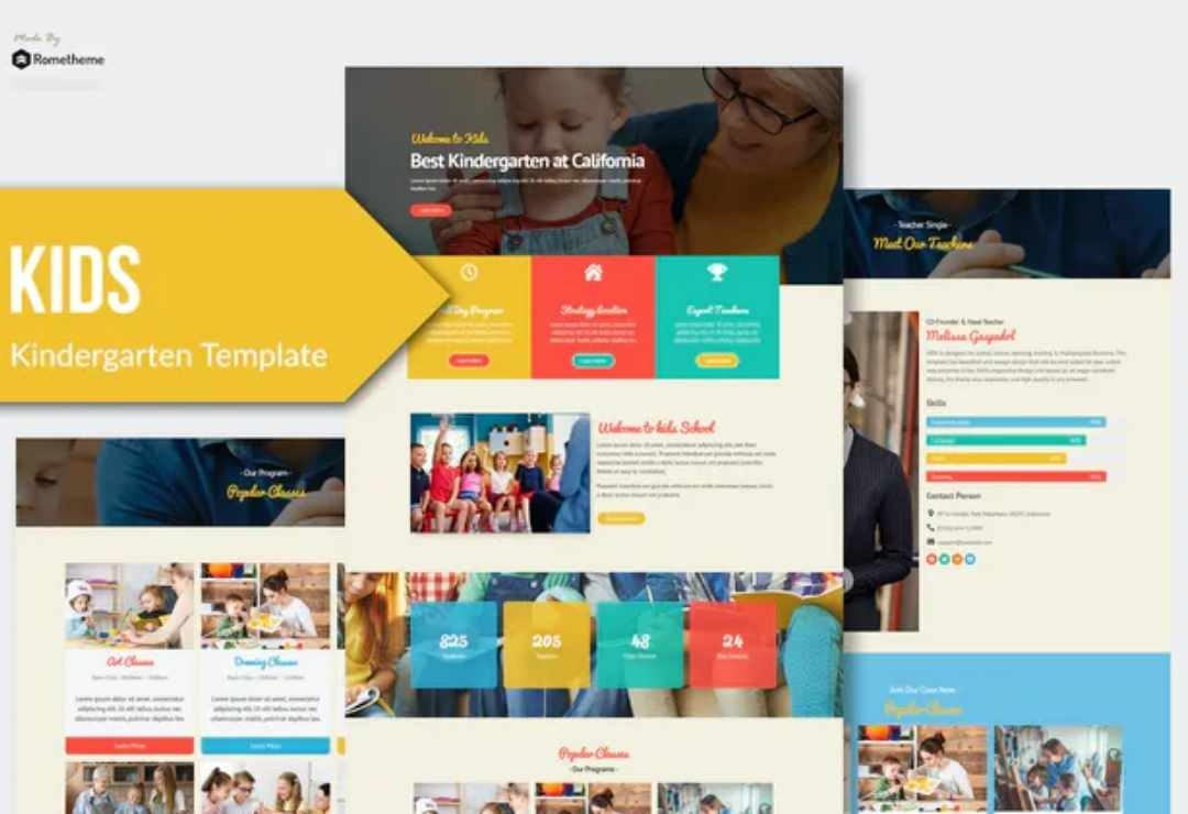 Kindergarten & Child Care