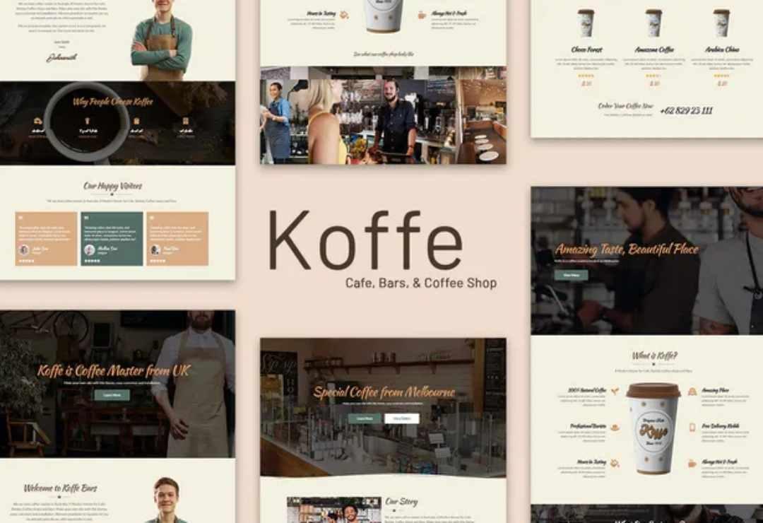 Koffe - Cafe & Coffee Shop