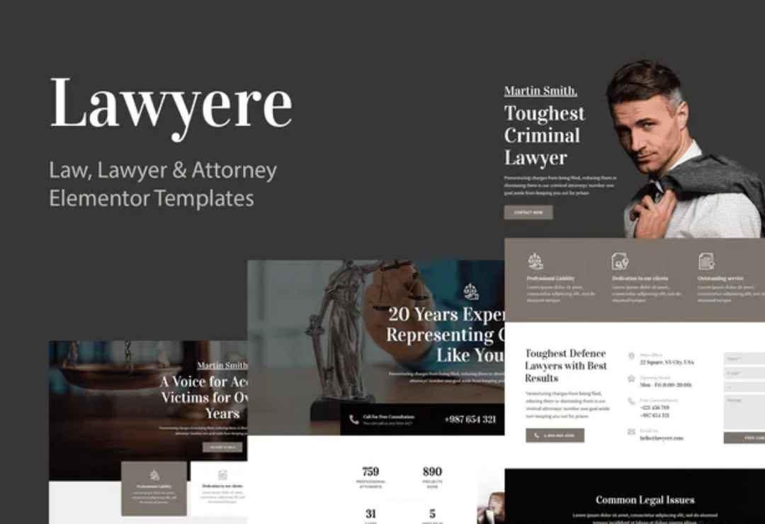 Lawyere - Legal & Attorney