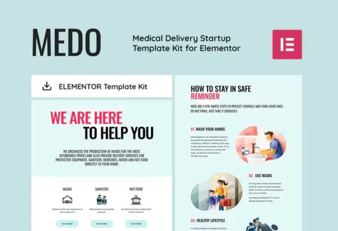 MEDO - Medical Delivery Startup
