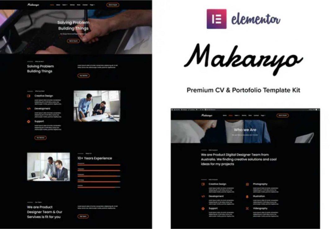 Makaryo - CV & Portofolio