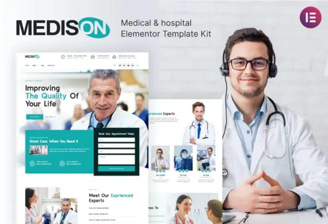 Medison - Hospital & Healthcare Clinic