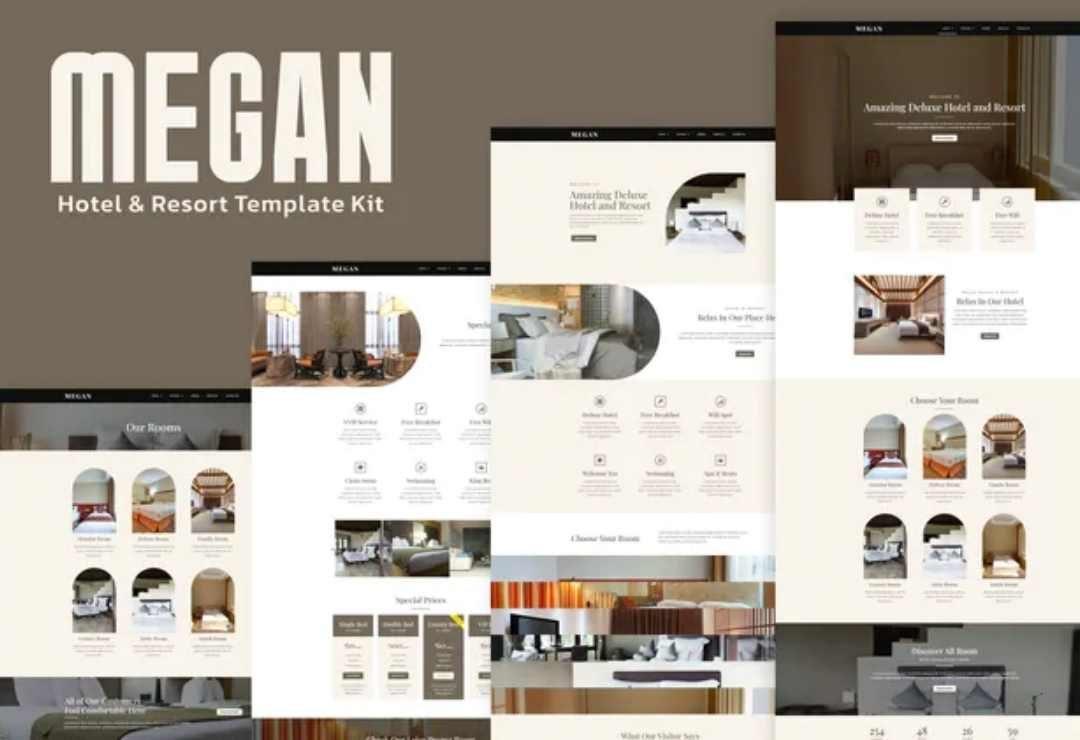 Megan - Hotel Booking