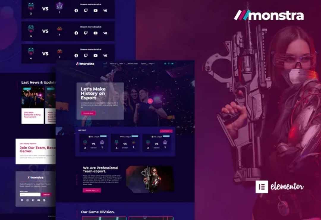 Monstra - Esports & Gaming