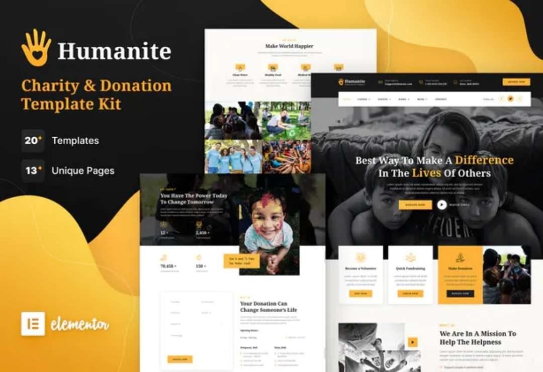 Nonprofit Organization Web designs 3