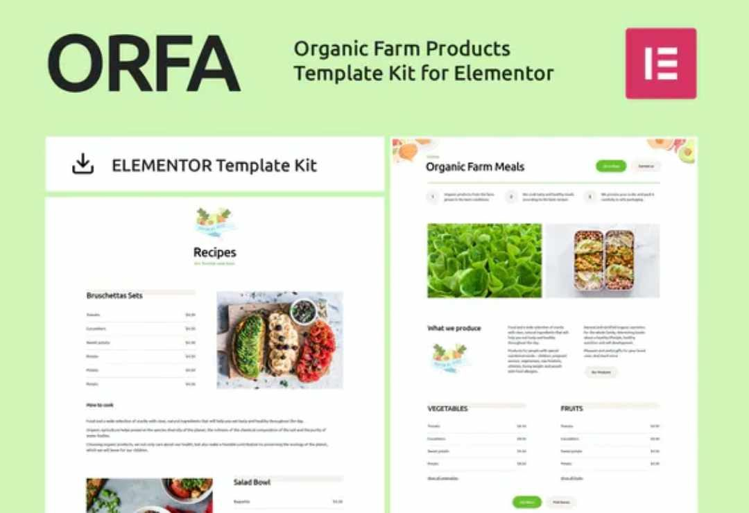 ORFA - Organic Farm Products