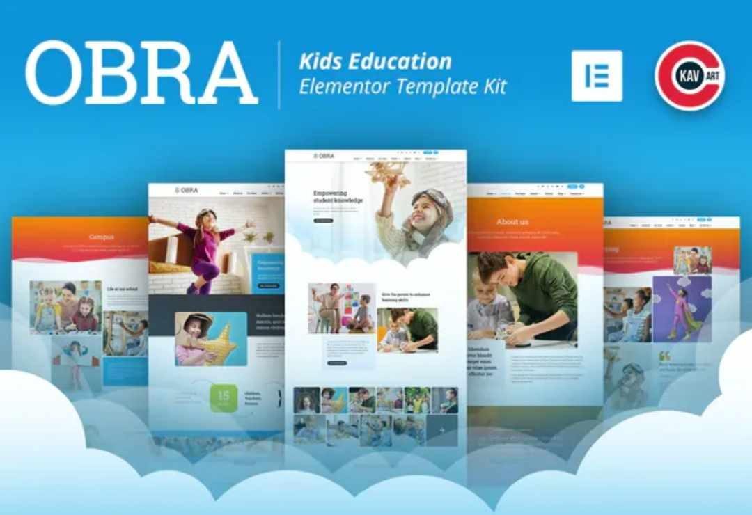 Obra - Kids Education & School