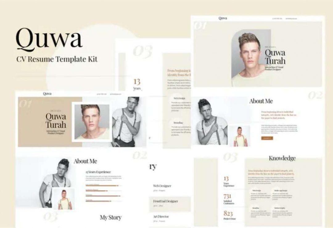 Quwa - CV Resume