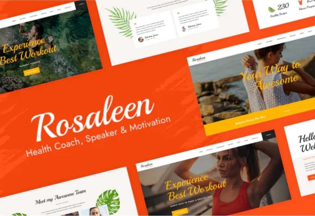 Rosaleen - Health Coach & Motivational