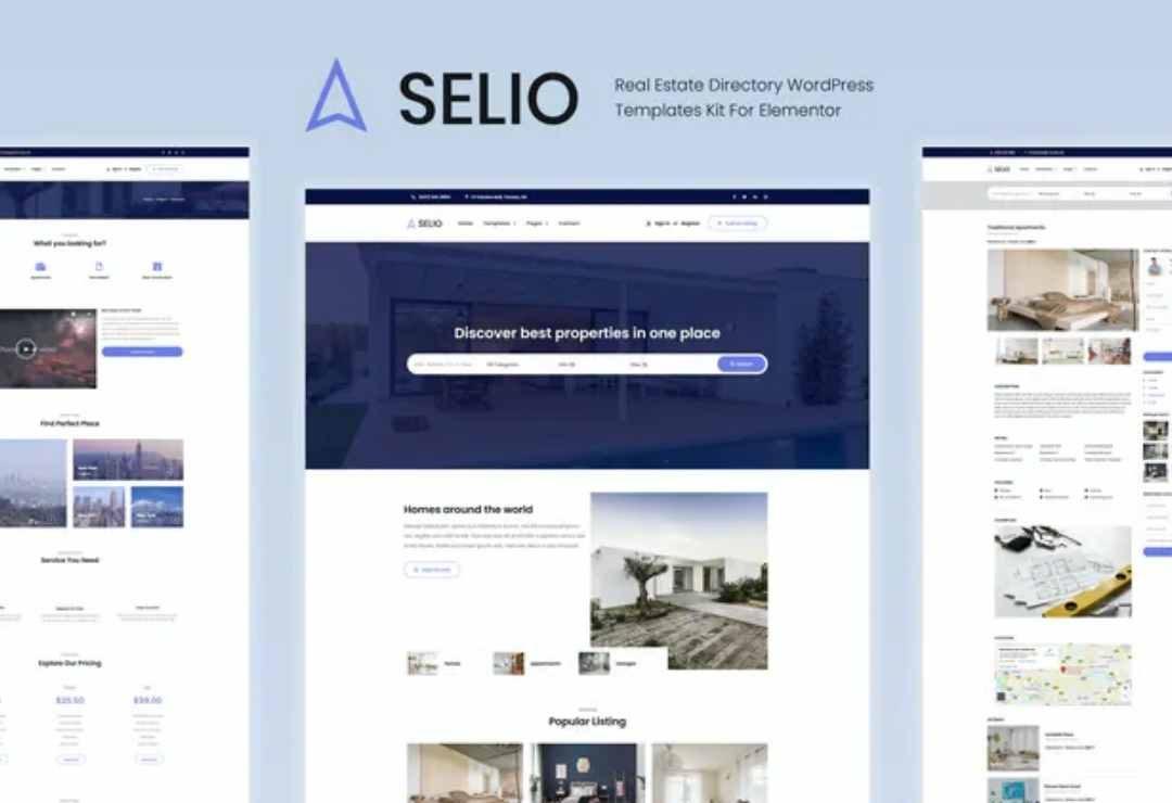 Selio - Real Estate Directory