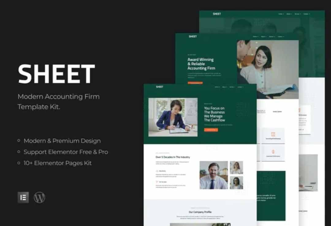Sheet - Modern Accounting Firm