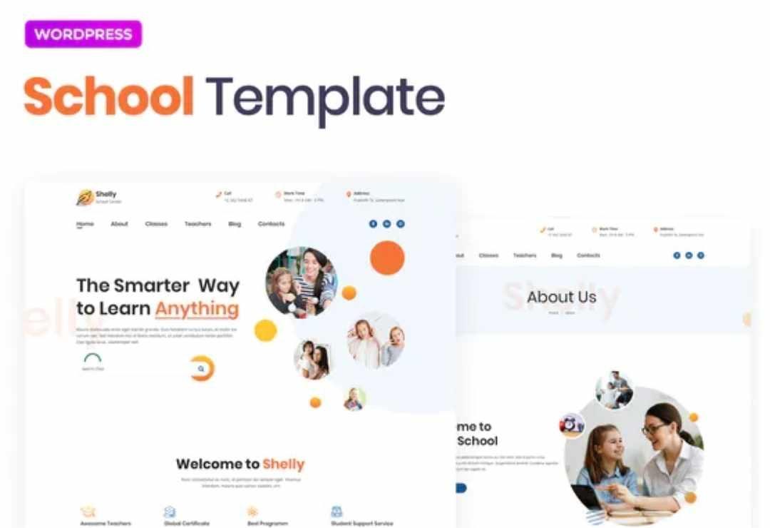 Shelly – School Template Kit