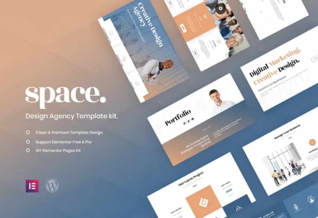 Space - Creative Agency Template