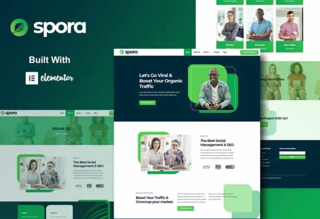 Spora - Digital Agency & Creative