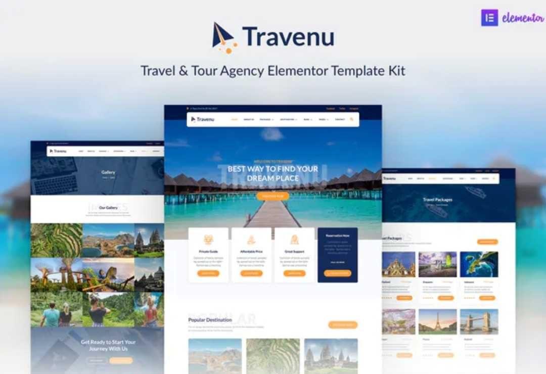 Travenu – Travel & Tour Agency