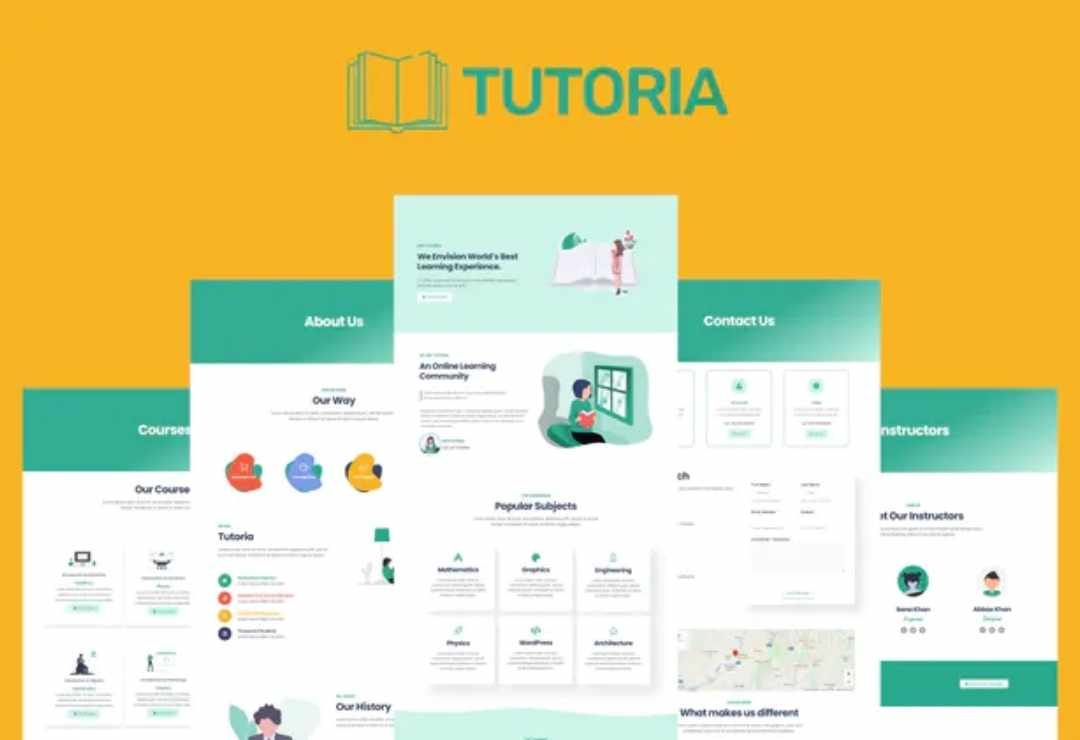 Tutoria - Education & Online Courses