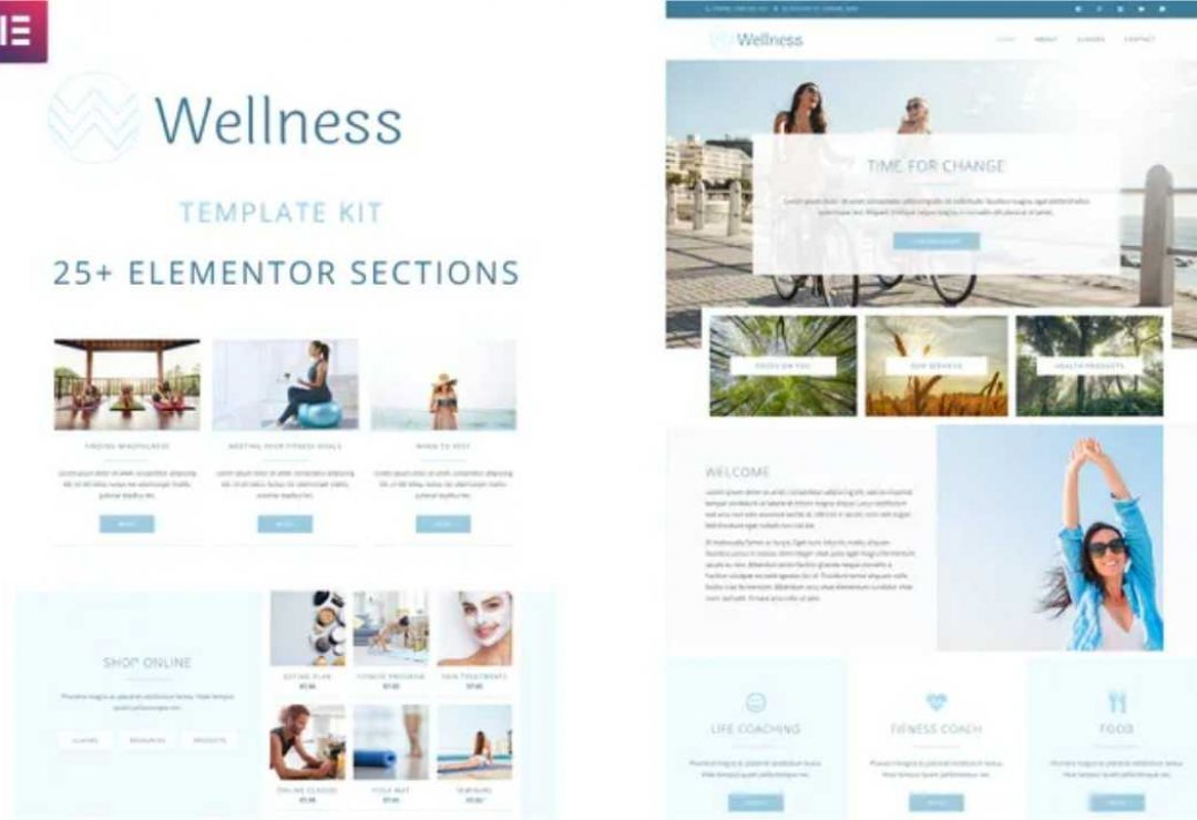 Wellness - Elementor