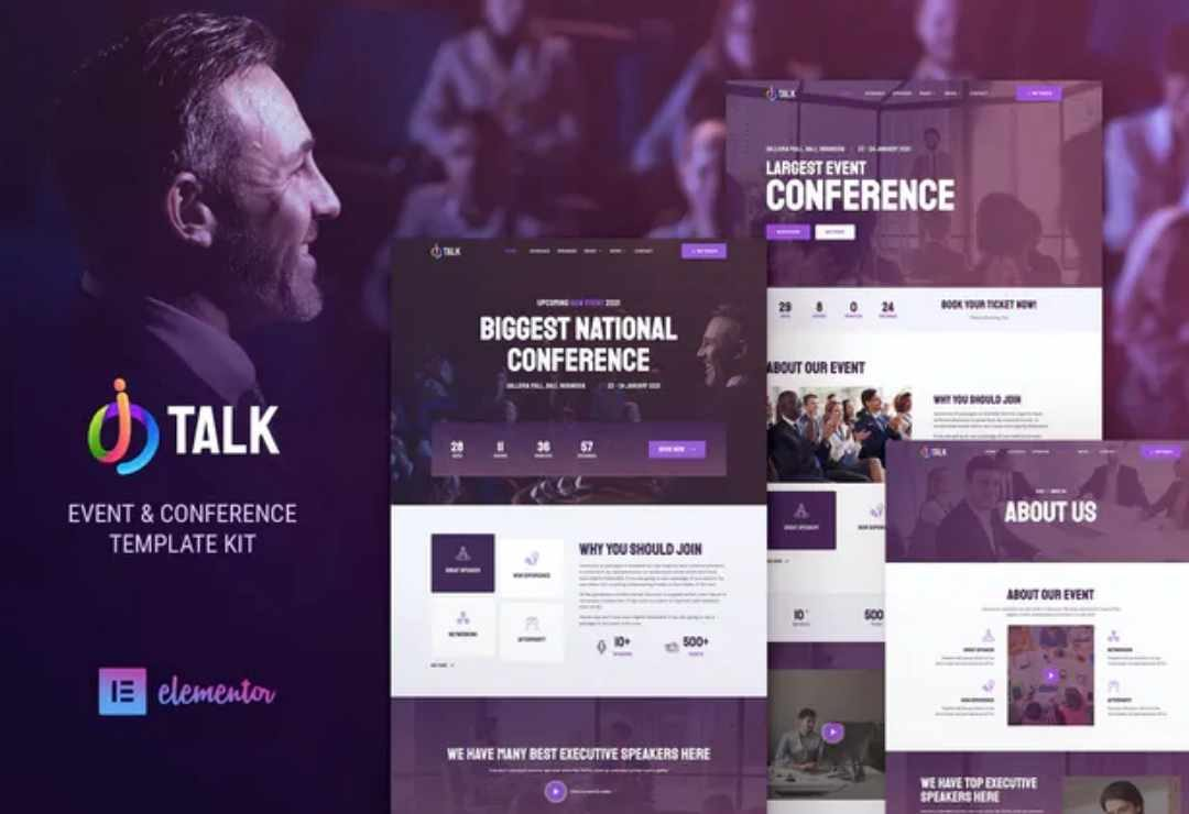 iTalk – Event & Conference